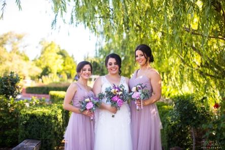 lavender bridesmaids mill park florist