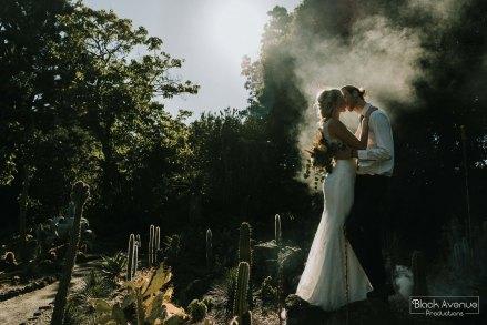 Boho Bride and Groom Mill Park Florist