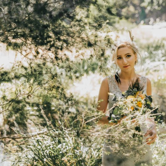 Boho Wedding Flowers Mill Park Florist