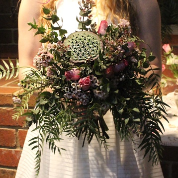 wild and free bouquet unstructured