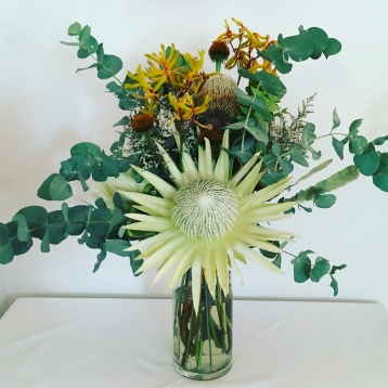 king protea statement arrangement native