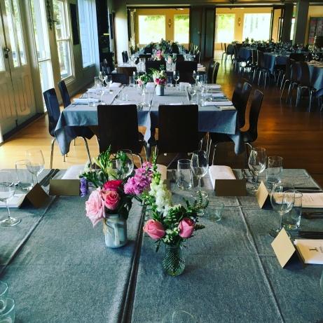 english country garden wedding table centrepieces