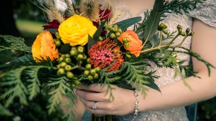 Vintage Bridal Bouquets Mill Park Florist
