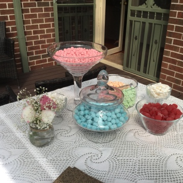 Vintage Lolly Bar flowers