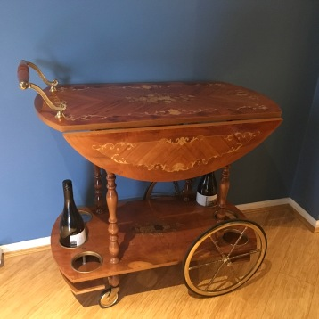 vintage tea/drinks trolley