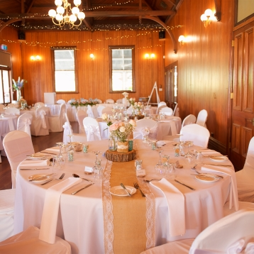 rustic winery wedding table flowers wintage mill park florist